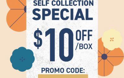 MAHOTA MOONCAKES $10 OFF!  ~ SELF COLLECTION PROMO