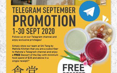 Mahota Telegram Sept Promotion [1-30 Sept 2020]